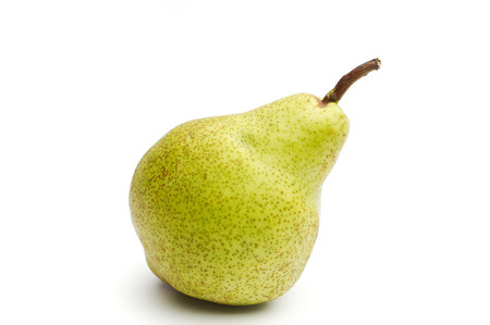 to sort: Williams sort pear isolated against white background