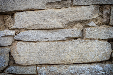robustness: Ancient stone wall texture