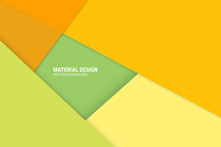 disign: Material Disign Vector Background - Web or Application Design Element