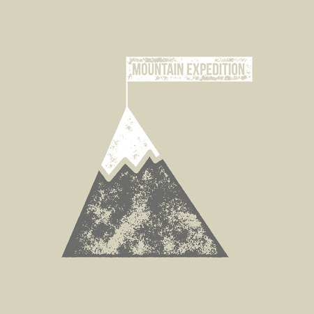 expedition: Mountain Expedition T-Shirt Vector Design