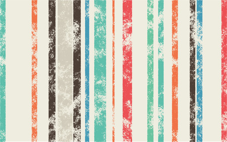 width: Retro Scratched Background - Color Lines with Different Width on Light Background - Can Be Used for Webdesign or Wallpaper Illustration