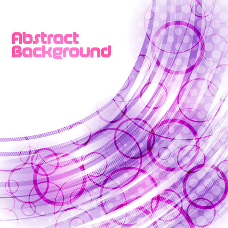 abstract violet circle background