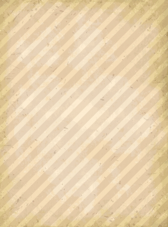 Vector old paper with stripes