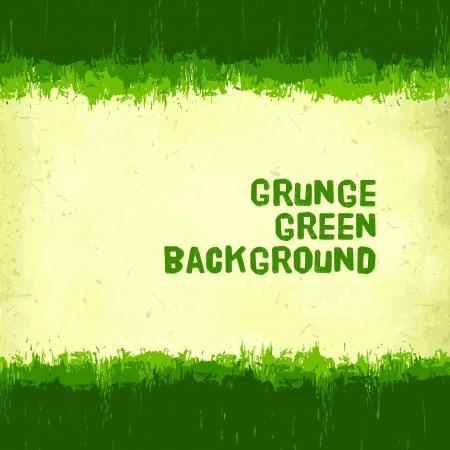 vintage green grunge background
