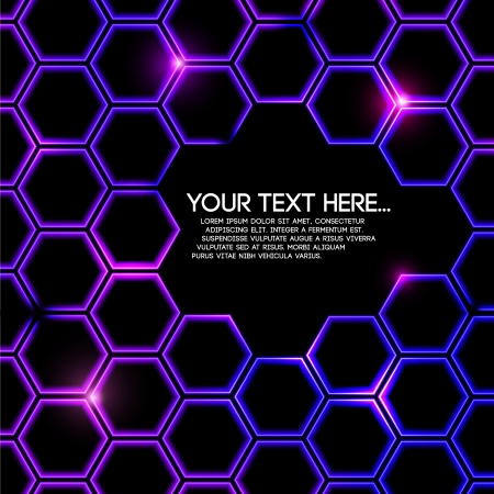 abstract digital colorful geometric background
