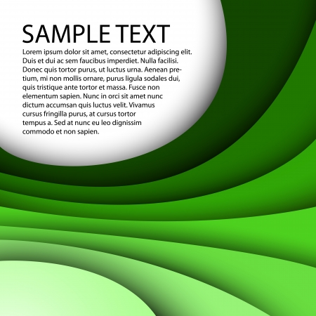 abstract green background Ilustracja