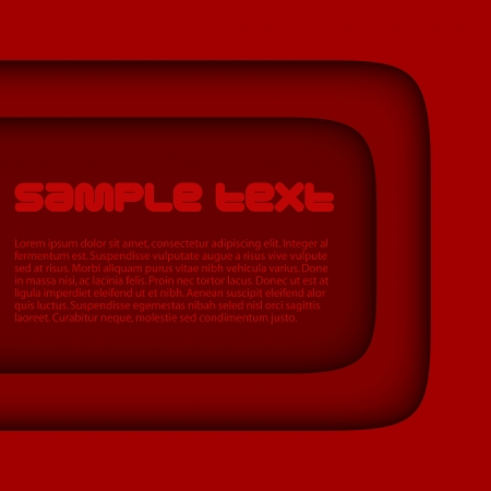Abstract red background Vectores