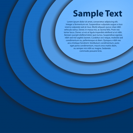 Abstract blue background Vectores
