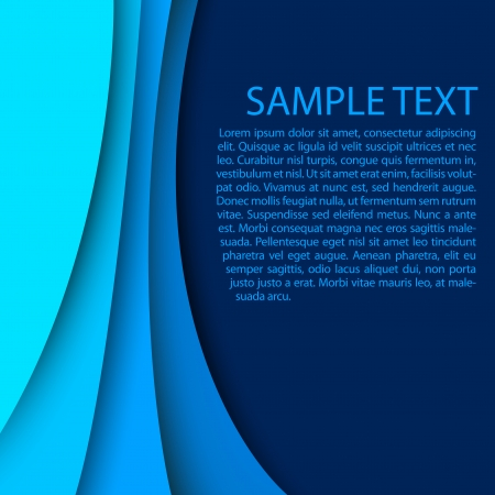 Abstract blue background Ilustracja