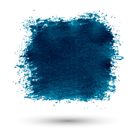 Abstract blue color grunge background  Ilustracja