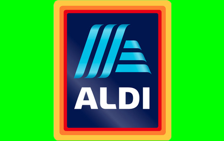 MUELHEIM  GERMANY - MARCH 14 2017: Aldi will start using this new logo from June 2017 onward