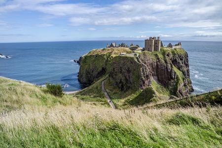 Dunnottar castle ruins - Stonehaven - Scotland