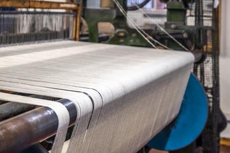 Weaving background with traditional tools 版權商用圖片