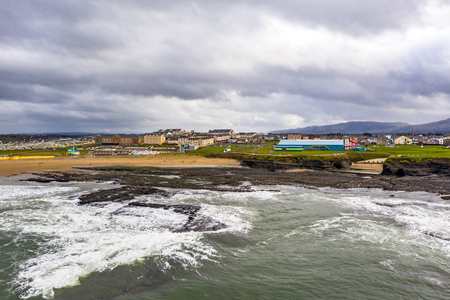 Aerial view of Bundoran and Donegal Bay - Ireland