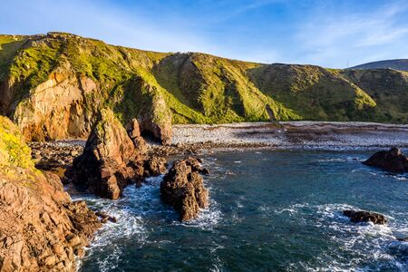 Dramatic coastal landscape at Bloody Foreland, Donegal, Ireland. Banque d'images