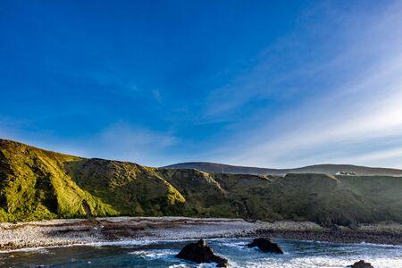 Dramatic coastal landscape at Bloody Foreland, Donegal, Ireland. Stock Photo