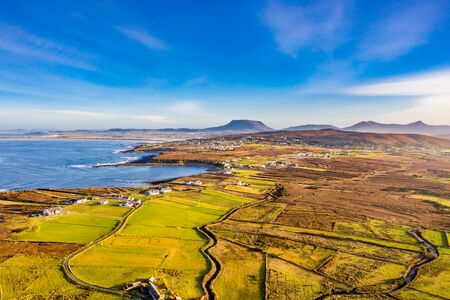 The coastline between Meenlaragh and Brinlack : Tra na gCloch in County Donegal - Ireland