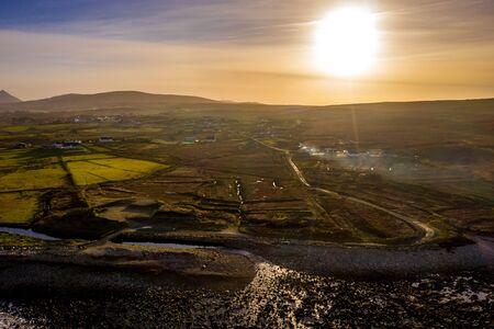 The coastline between Meenlaragh and Brinlack : Tra na gCloch in County Donegal - Ireland