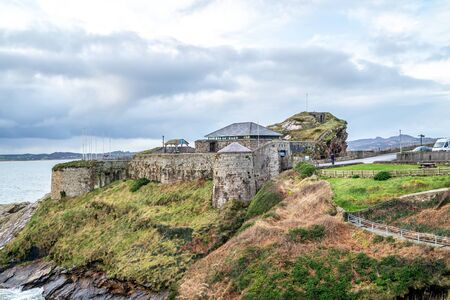Fort Dunree, Inishowen Peninsula - County Donegal, Ireland. 스톡 콘텐츠