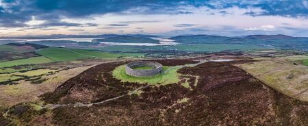 Grianan of Aileach ring fort, Donegal - Ireland. Reklamní fotografie