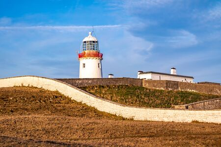 Lighthouse at St. John's Point, County Donegal, Ireland.