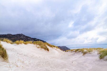 The dunes at Maghera Beach near Ardara, County Donegal - Ireland