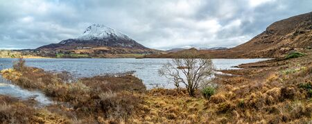 Mount Errigal, the highest mountain in Donegal - Ireland