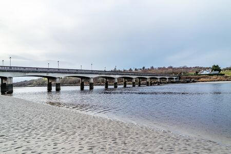 The bridge to Lettermacaward in County Donegal - Ireland