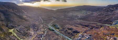 The way to Port in County Donegal - Ireland