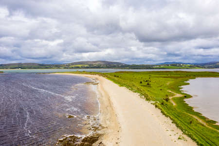 Gweebarra bay by Lettermacaward in County Donegal - Ireland