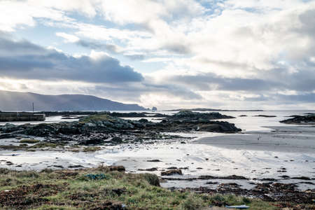The coastline at Rossbeg in County Donegal during winter - Ireland