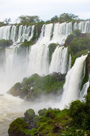 Iguazu Falls seen from the Argentinian National Park