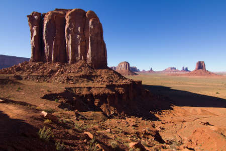 The rocks formations of Monument Valley, Utah, USA