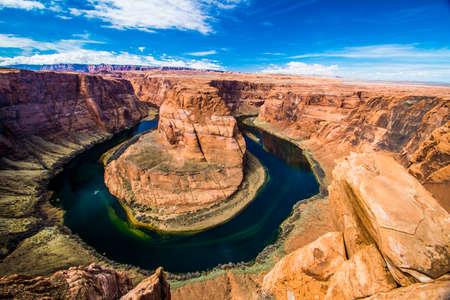 Horse Shoe Bend on the colorado river, Arizona