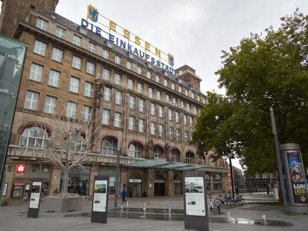 Essen / NRW / Germany / 17.10.20 Select Hotel Handelshof Essen. Hotel building in Essen in the city center. Autumn cloudy day. 新聞圖片