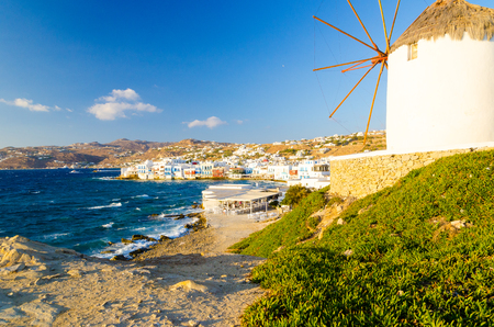 cyclades: Mykonos island, Cyclades, Greece Stock Photo