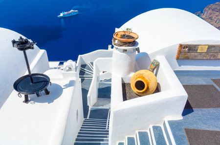 cyclades: Santorini island, Cyclades, Greece