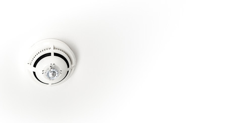 A fire sprinkler system is an active fire protection method Banco de Imagens