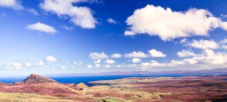 Sunny winter morning on Isle of Skye