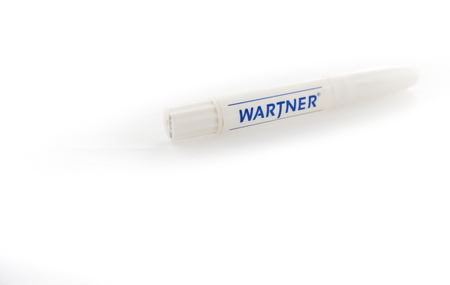 Alloa, Scotland - 13 August 2019: Wartner pen, warts remover