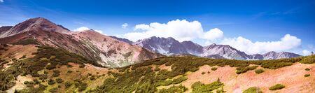 Breathtaking Tatra Mountains in autumn colours - Salatin and Brestowa peaks