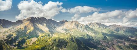 Rocky summits in Tatra Mountains - hillwalking, climbing, trekking