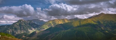 Hillwalking and mountaineering in Tatra Mountains in Poland