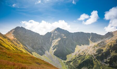 Rohac Ostry and Rohac Placzliwy in Western Tatra Mountains - two breathtaking rocky summits over 2000 m