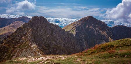 Rohacz Ostry and other summits of Slovakian Tatra Mountains