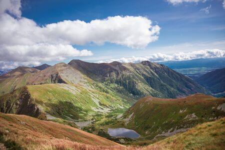 Dolné Jamnícke pleso - secluded mountain range in Slovakian Tatra Mountains