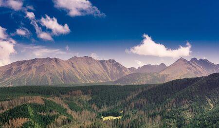 Tatra Mountains - part of Carpathian Mountains Range