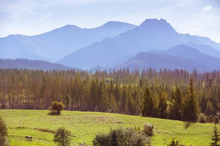 Rural life in Tatra Mountains in Poland