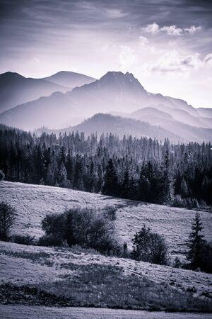 Zakopane - the capital of Tatra Mountains in Poland