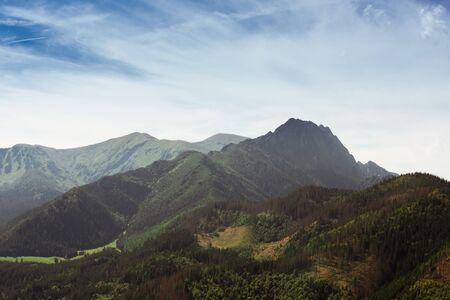 Giewont - one of the summits in Poland struck most often by lightning